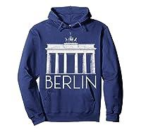 Berlin Shirt For Girls  Hoodie Navy