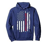 Best Grandma Ever T Shirt American Flag Mothers Day Gift Mom Hoodie Navy