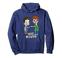 Netflix Big Mouth Fist Pump Shirts Hoodie Navy