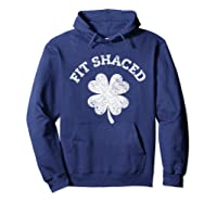 Shaced Shirt Saint Patrick Day T Shirt For Gift Idea Hoodie Navy