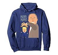 Putin S Puppet Donald Trump Anti Trump Impeach Trump Gift Premium T Shirt Hoodie Navy