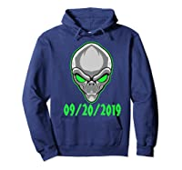 Storm Area 51 See Them Aliens Raid Ufo Cant Stop Us All Shirts Hoodie Navy