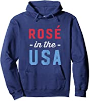 Rose In The Usa Cute 4th Of July T-shirt Hoodie Navy