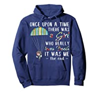 Once Upon A Time There Was A Girl Who Really Loves Books Ts Shirts Hoodie Navy