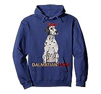 Dalmatian Mom Bandana Dalmatian Dog Lovers Gifts Shirts Hoodie Navy