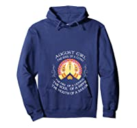 August Girl The Soul Of A Gypsy T Shirt August Girl Birthday T Shirt Hoodie Navy