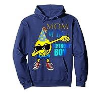 Cool Dancing Dabbing Emoji Mom Of Birthday Boy Party Shirts Hoodie Navy