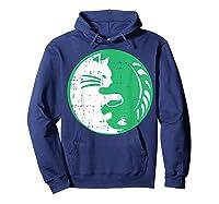 Area 51 Alien Cat Yin Yang Easy Lazy Kitten Halloween Gift Shirts Hoodie Navy