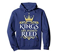 Kings Are Named Reed Shirts Hoodie Navy