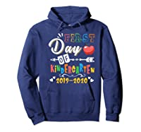First Day Of Kindergarten Cute Gift For Teas Shirts Hoodie Navy