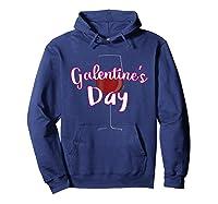 Galentine S Day Cute T Shirt Hoodie Navy