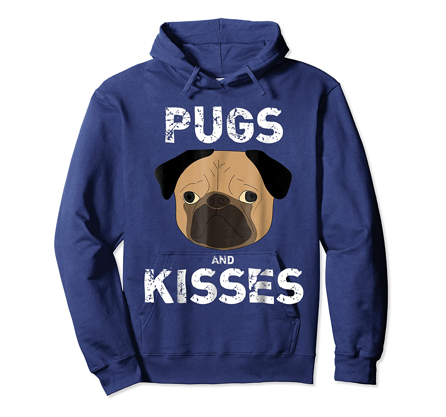 Pugs And Kisses Dog Animal Pet Funny Valentine S Day T Shirt Unisex Pullover Hoodie