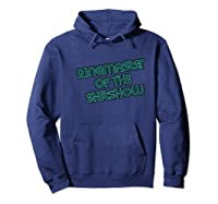 Ringmaster Of The Shitshow Funny Boss Shirts Hoodie Navy