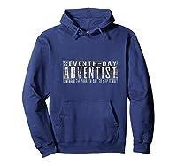 Seventh Day Adventist Sabbath Sda Christian Shirts Hoodie Navy