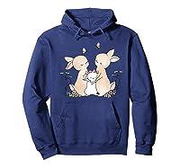 Family Rabbit Baby Bunny Sweet Family Shirt T Shirt Hoodie Navy