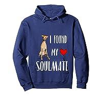 I Found My Soulmate Italian Greyhound Dog Lover Best Friend T-shirt Hoodie Navy