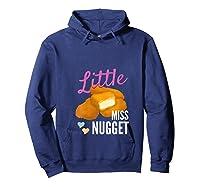 Little Miss Nugget Chicken Nuggs Artwork Shirts Hoodie Navy