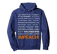 29 More Reasons To Impeach Potus Trump Political Activist T Shirt Hoodie Navy