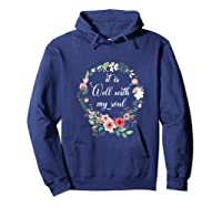 Inspirational It Is Well With My Soul T Shirts Faith Tees Tank Top Hoodie Navy
