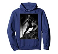 Black Panther Movie Shadow Cliff Stance Shirts Hoodie Navy