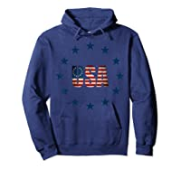 Vintage Betsy Ross Flag T-shirt Hoodie Navy