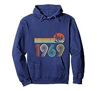 Apollo 11 50th Anniversary Moon Landing 1969 2019 Vintage Shirts Hoodie Navy