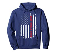 Best Uncle Ever T Shirt American Flag Fathers Day Gift  Hoodie Navy