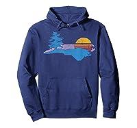 North Carolina Smokey Mountains Vintage Blue Ridge Shirts Hoodie Navy