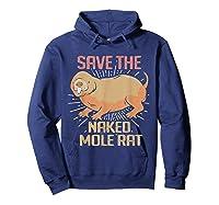 Naked Mole Ra Shirts Hoodie Navy