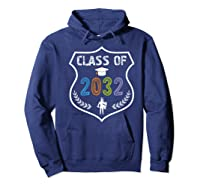 2019 Class Of 2032 Grow With Graduation First Day Of School Shirts Hoodie Navy