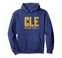 Basketball Cleveland Ohio Sports Shirts Hoodie Navy