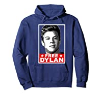 American Vandal Free Dylan Political Poster Premium T-shirt Hoodie Navy