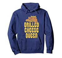 Gift For The Queen Grilled Cheese Maker Of The House Premium T Shirt Hoodie Navy