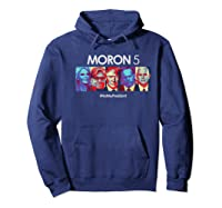 Funny Anti Trump Shirt Hate Donald Tshirt Impeach Hoodie Navy