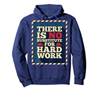 Happy Labor Day Hard Worker Cool Employee Gift Back Print T-shirt Hoodie Navy
