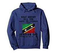Saint Kitts Nevis Dad Gifts For Fathers Day Tank Top Shirts Hoodie Navy