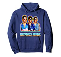 Happiness Begins Tour Music T Shirt Cool Jonas Shirt T Shirt Hoodie Navy