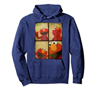 Sesame Street Photo Booth Elmo Shirts Hoodie Navy