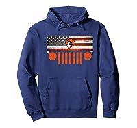 Oklahoma State Cow Nation Flag Apparel Premium T Shirt Hoodie Navy