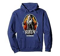 The Walking Dead Queen Carol T-shirt Hoodie Navy