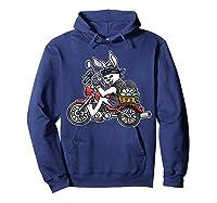 Easter Bunny Motorcycle Tshirt Biker Gifts Braap T-shirt Hoodie Navy
