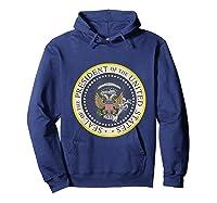 Fake Presidential Seal 45 Es Un Titere Puppet Trump Shirts Hoodie Navy