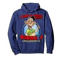 Bubba J Airway Heights Wa T Shirt Hoodie Navy