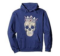 Skull King Crown Jewels Shirts Hoodie Navy