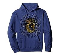 April Girl The Soul Of A Mermaid Tshirt Funny Gifts Premium T Shirt Hoodie Navy