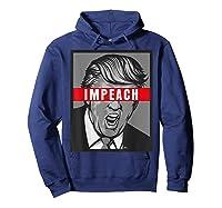 Impeach Trump Not My President Tshirts Hoodie Navy