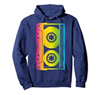 Cassette Tape 80s 90s Vintage Retro Funny Halloween Shirts Hoodie Navy