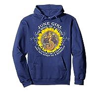 June Girl The Soul Of A Mermaid Tshirt Birthday Gifts Hoodie Navy