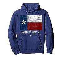 Texas Flag City State Shirts Hoodie Navy