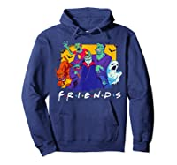 Friends Halloween Horror T Shirt Hoodie Navy